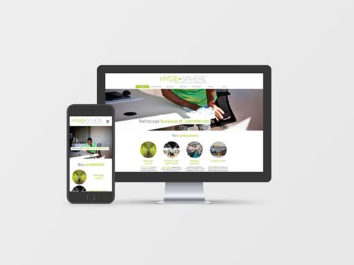 Création Site Internet Hygie Sphère