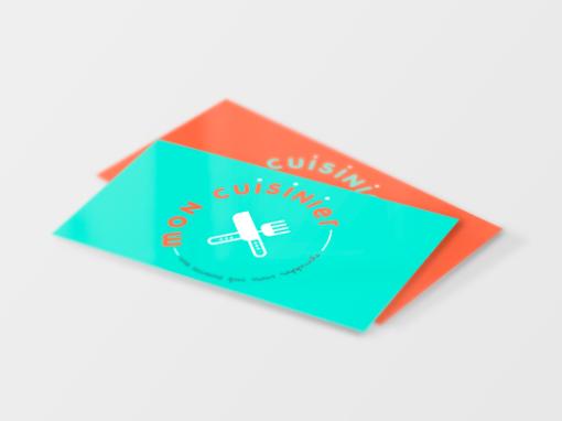 Refonte Logo Mon Cuisinier – Piste non retenue