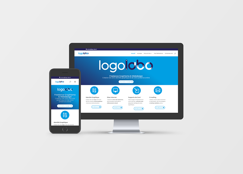Création Site Internet Logo Labo